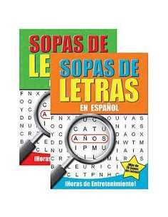 LIBRO SOPA DE LETRA ( UNIDAD)