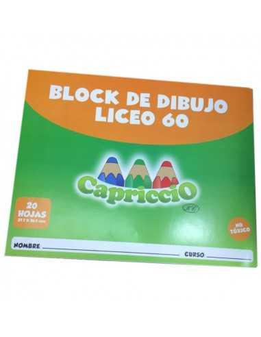 BLOCK DE DIBUJO  LICEO  Block de Dibujo