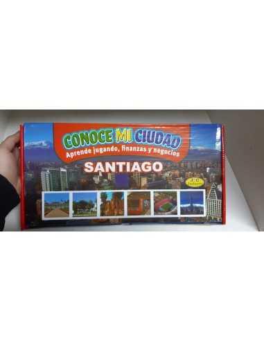 JUEGO CONOCE MI CIUDAD GRAN SANTIAGO